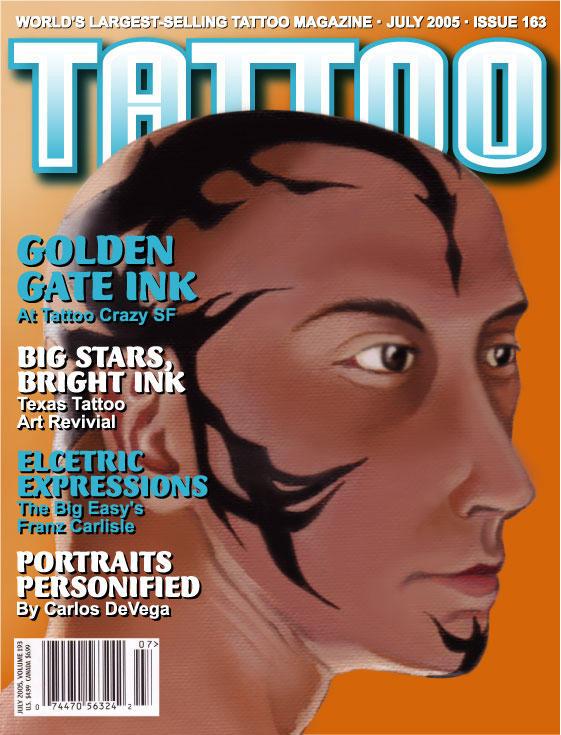Tattoo magazine cover by darklighterdigital on deviantart for Tattoo artist magazine download