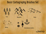 Basic Cartography Brushes Set