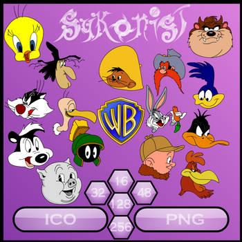 Looney Tunes Sykons