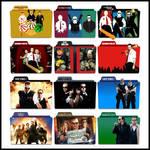 The Cornetto Trilogy Folder Icons