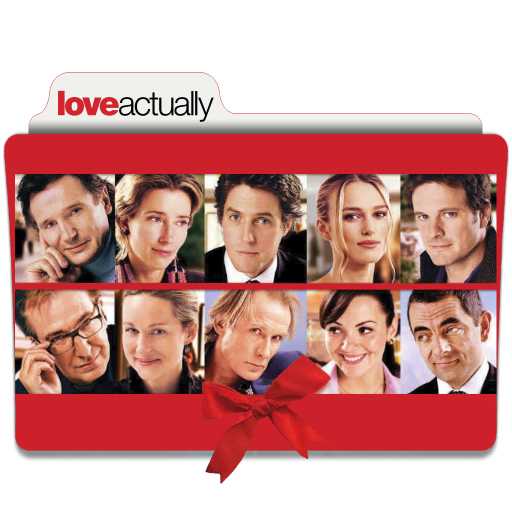 Love Actually 2003 Folder Icon By Ackermanop On Deviantart