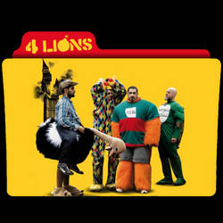 Four Lions (2010) Folder Icon by AckermanOP