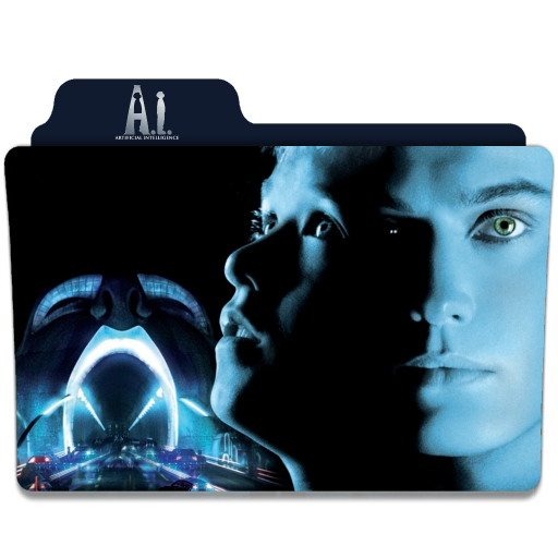 A I Artificial Intelligence 2001 Folder Icon By Ackermanop On Deviantart