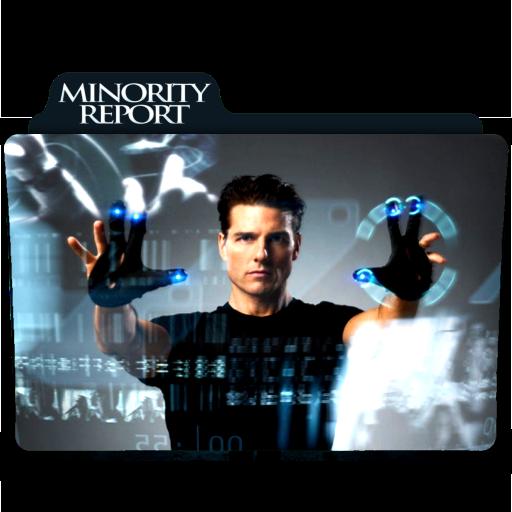 Minority Report 2002 Folder Icon By Ackermanop On Deviantart