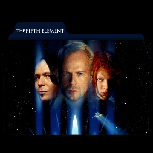 The Fifth Element 1997 Folder Icon By Ackermanop On Deviantart
