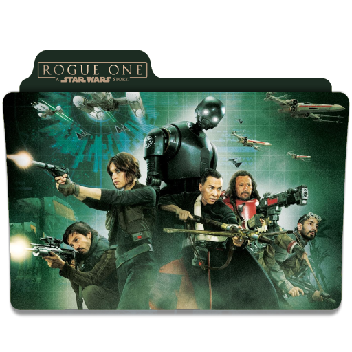 Rogue One A Star Wars Story 2016 Folder Icon By Ackermanop On Deviantart