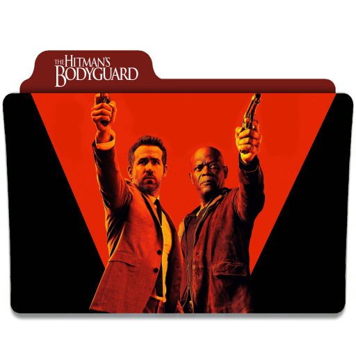 The Hitman S Bodyguard 2017 Folder Icon By Ackermanop On Deviantart
