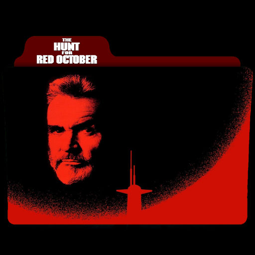 The Hunt For Red October 1990 Folder Icon By Ackermanop On Deviantart