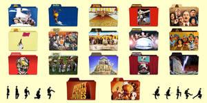 Monty Python Folder Icons
