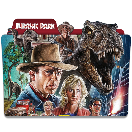 Jurassic Park 1993 Folder Icon By Ackermanop On Deviantart