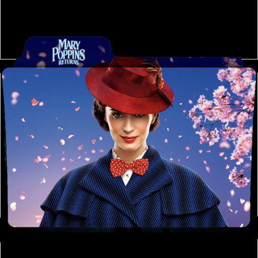 Mary Poppins Returns 2018 Folder Icon By Ackermanop On Deviantart