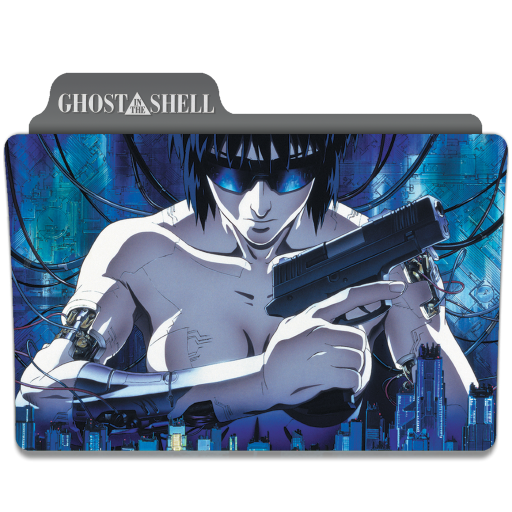 Ghost In The Shell 1995 Folder Icon By Ackermanop On Deviantart