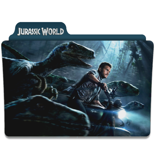 Jurassic World 2015 Folder Icon By Ackermanop On Deviantart