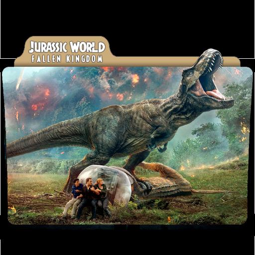 Jurassic World Fallen Kingdom 2018 Folder Icon By Ackermanop On Deviantart
