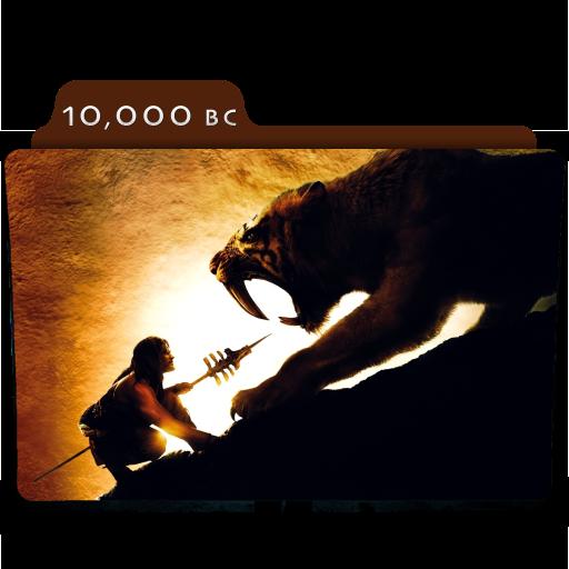 10 000 Bc 2008 Folder Icon By Ackermanop On Deviantart