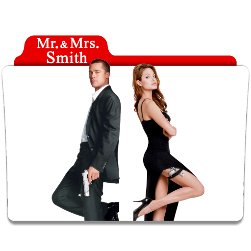 Mr And Mrs Smith 2005 Folder Icon By Ackermanop On Deviantart