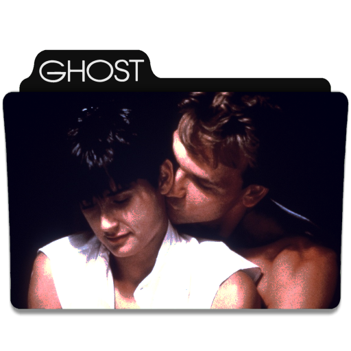 Ghost 1990 Folder Icon By Ackermanop On Deviantart