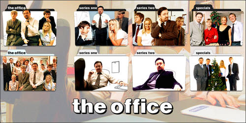 The Office (UK) TV Series Folder Icons