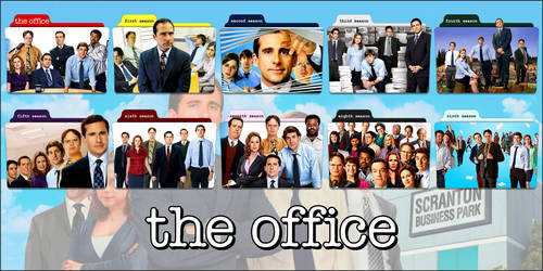 The Office (US) TV Series Folder Icons