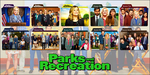 Parks And Recreation TV Series Folder Icons