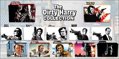Dirty Harry Series Folder Icons
