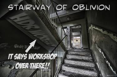 Stairway of Oblivion HDR workshop by wchild