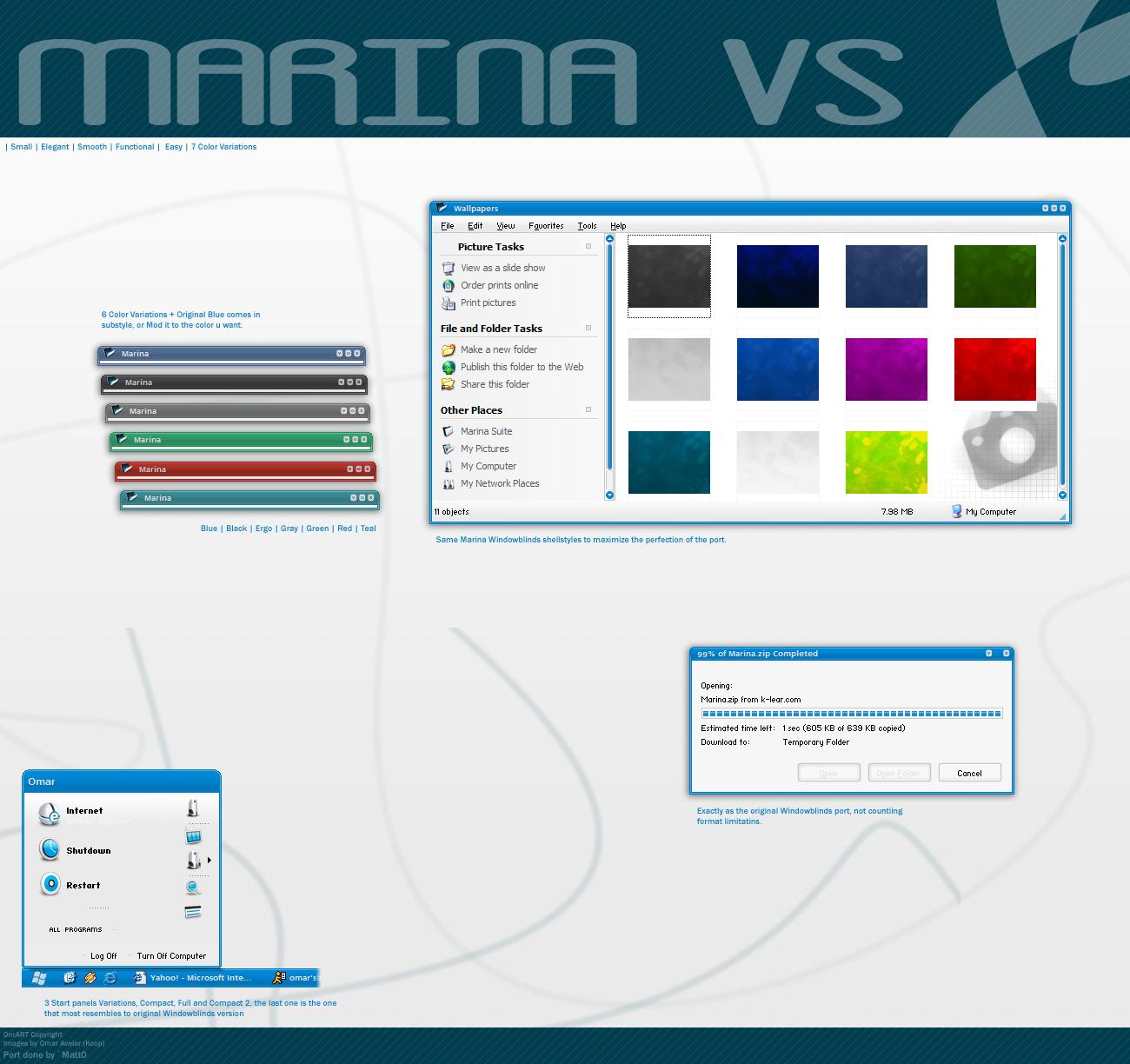 Marina VS by OmART