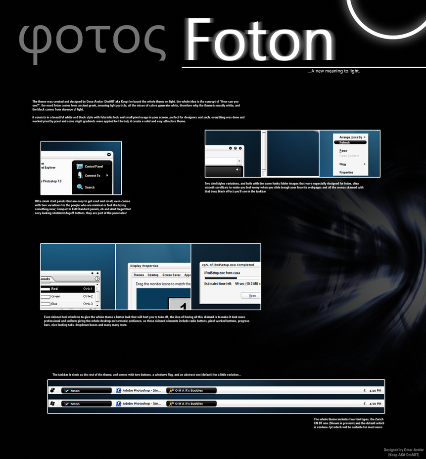 Foton by OmART