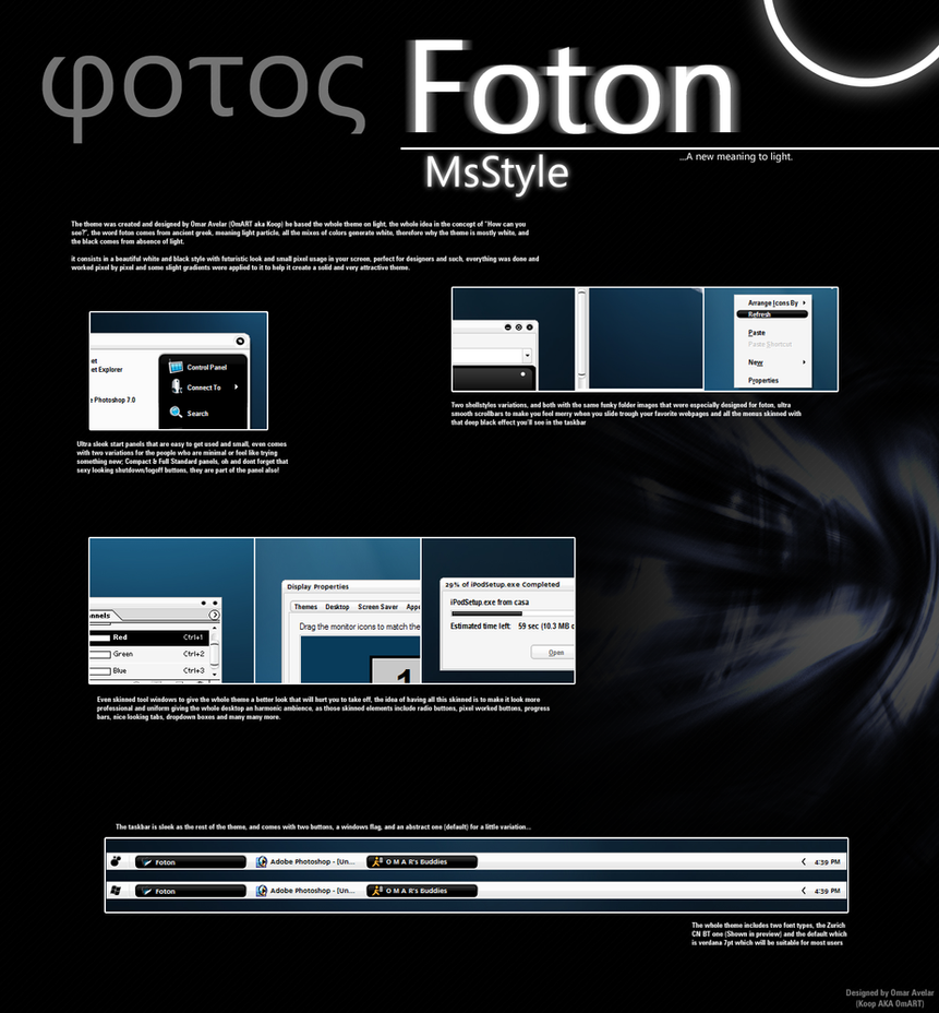 Foton VS by OmART