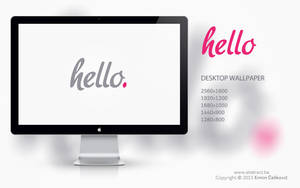 Hello Wallpaper by Abstx