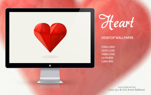 Heart Wallpaper by Abstx