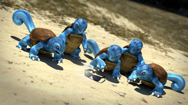 Squirtle Squad Origin
