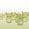 rollover bunnies by thehermitdesign