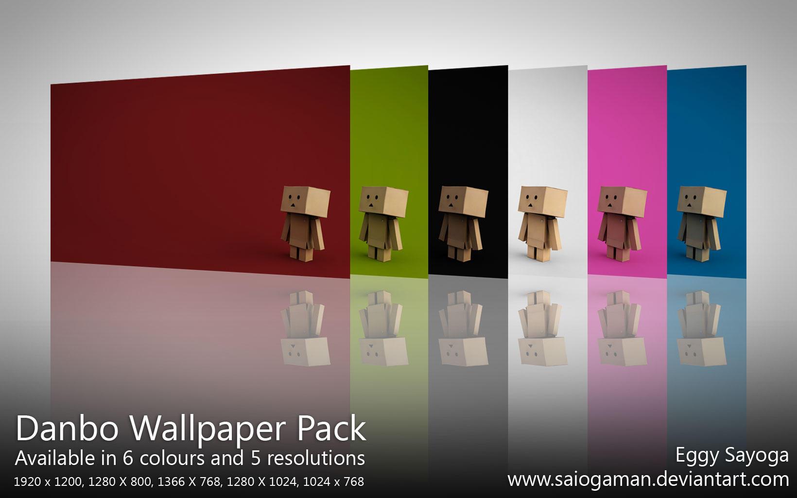 Danbo Wallpaper Pack by SaiogaMan