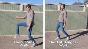 GMM: Victim Walk vs Anti-Mugger Walk