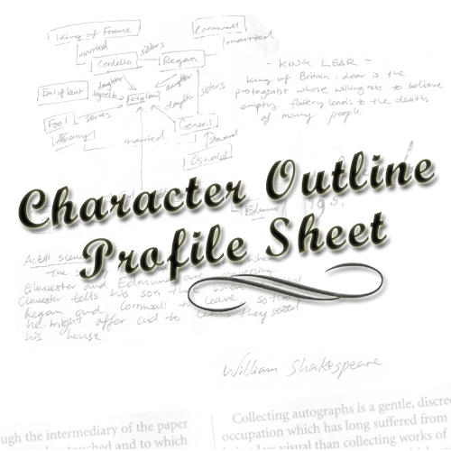 Character Profile Outline by KittyFelone on DeviantArt – Character Profile Worksheet