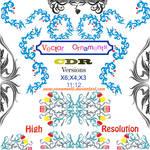 vector ornaments corel draw