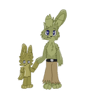 Springtrap and Plushtrap Pagedoll by Scurryy