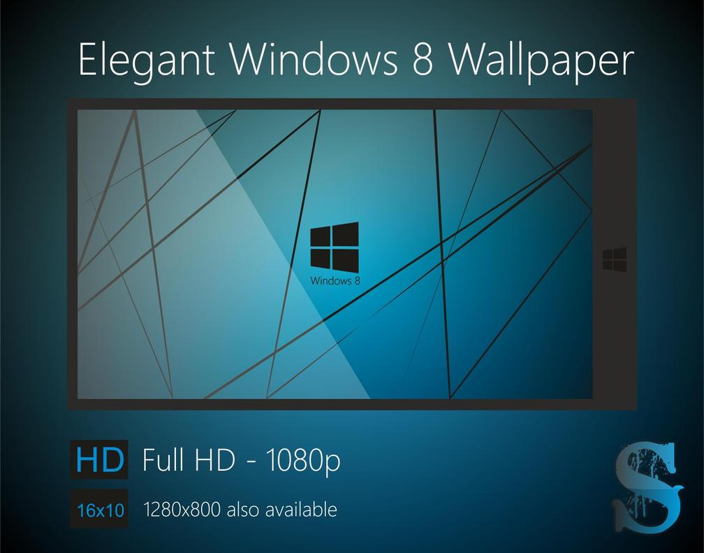Elegant Windows 8 Wallpaper by sharmashrayansh