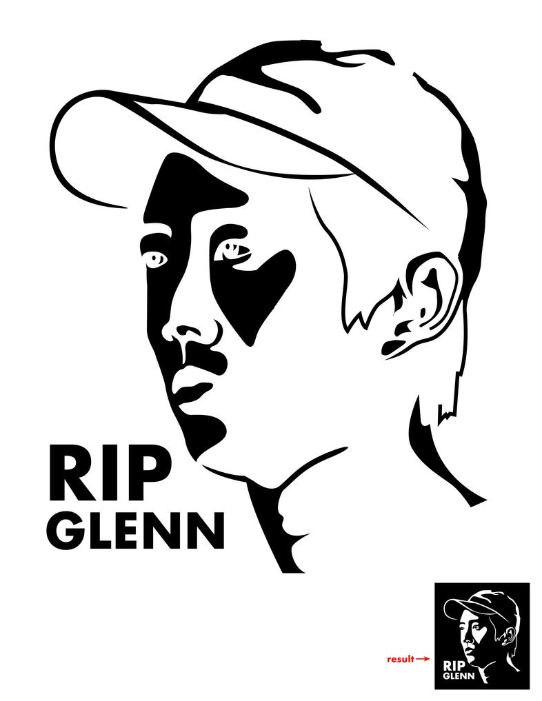 RIP Glenn Pumpkin Carving Template by Vesenya on DeviantArt
