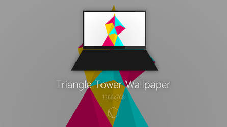 Triangle Tower Wallpaper