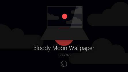 Bloody Moon Wallpaper