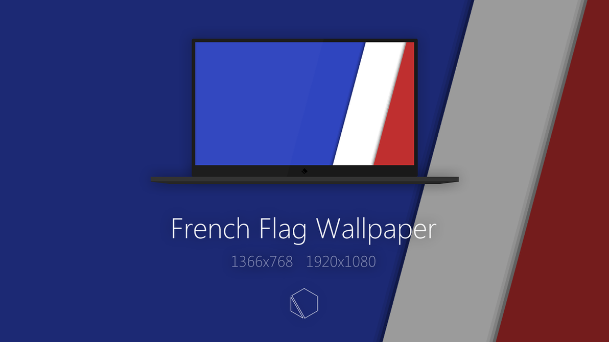 French Flag Wallpaper By TheButterCat
