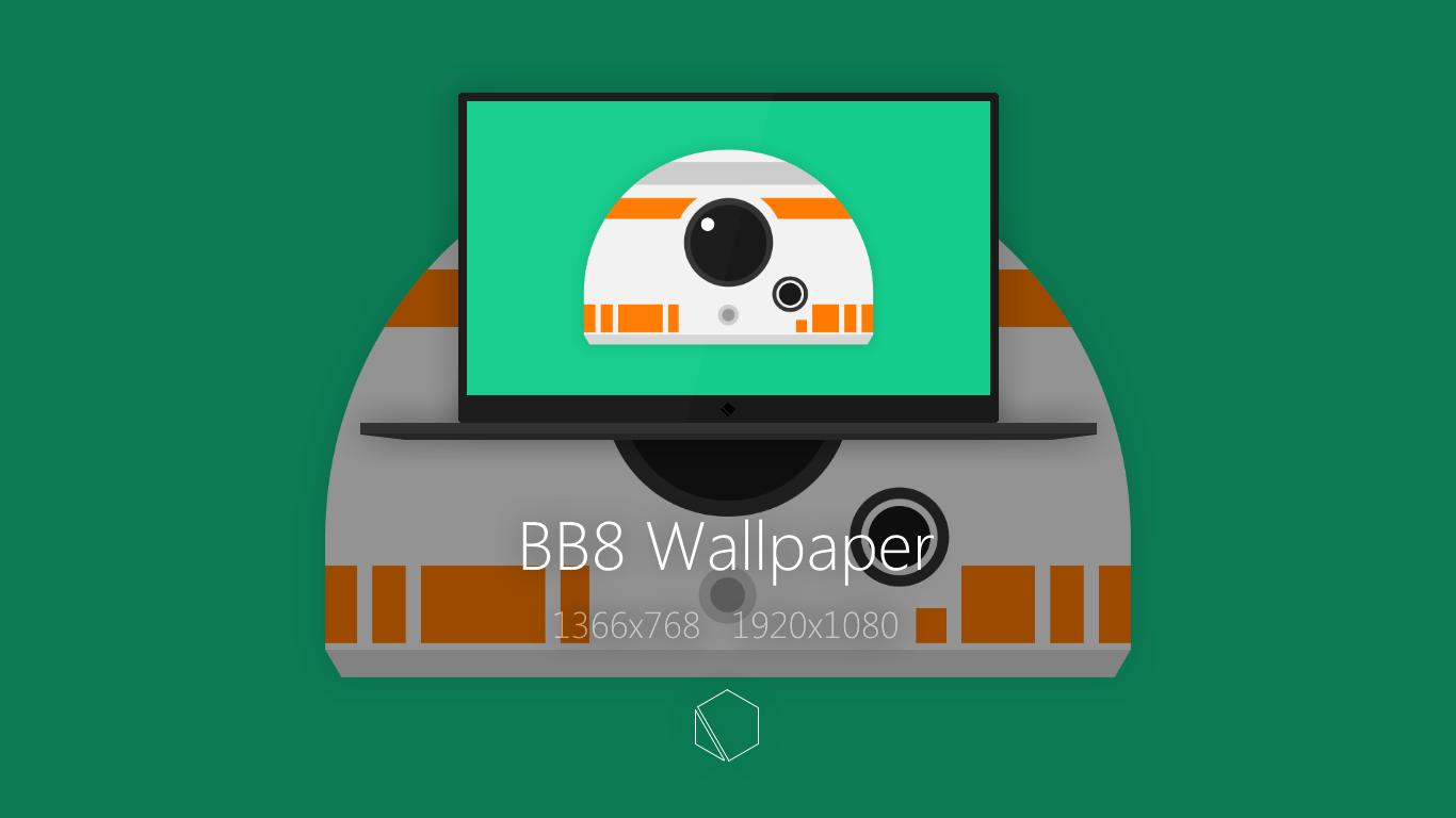 BB8 Wallpaper by TheButterCat on DeviantArt