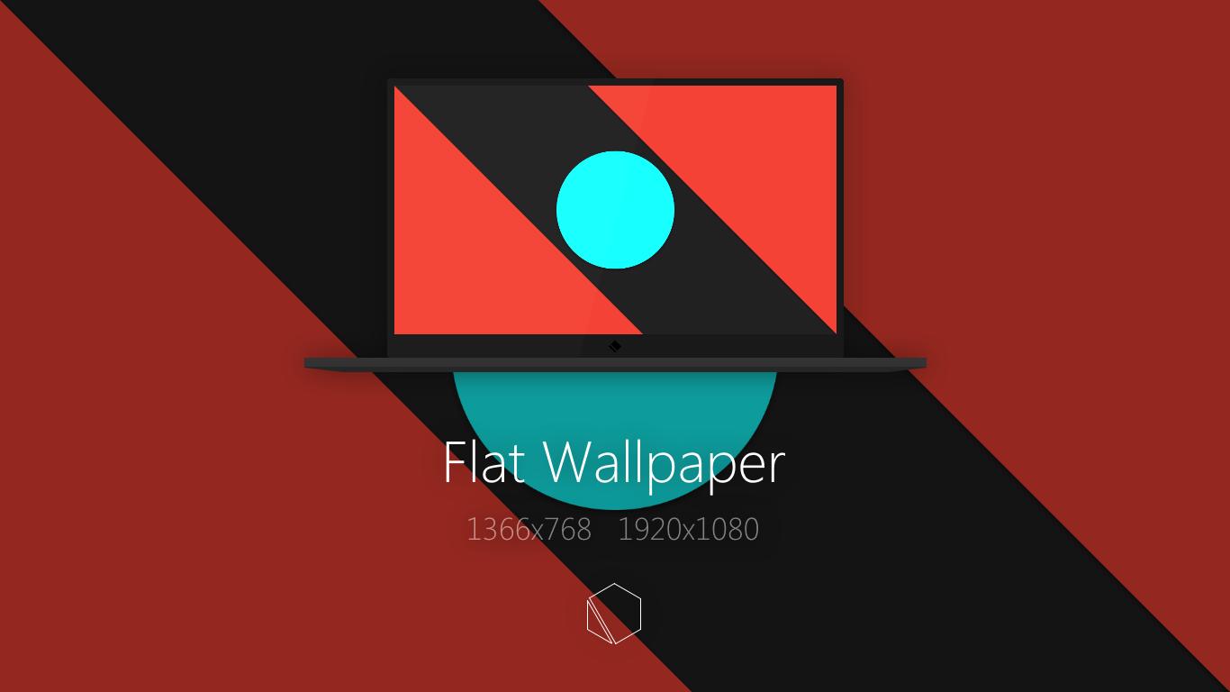 flat wallpaper by thebuttercat on deviantart