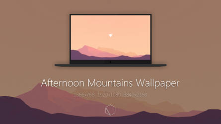 Afternoon Mountains Wallpaper
