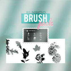NATURE BRUSH PACK BY NIIH TVD by Jiminielogy