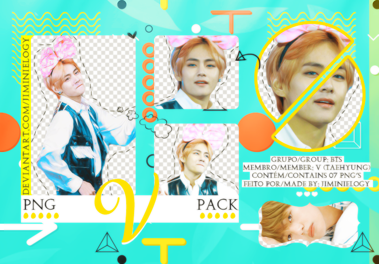 PNG PACK | KIM TAEHYUNG (V) FROM BTS by Jiminielogy on