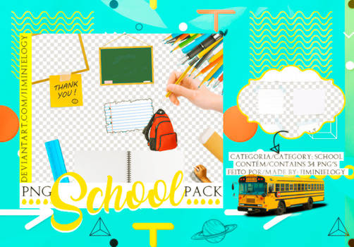 PNG PACK   SCHOOL
