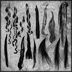 Hair Brushes Set 1 by Falln-Stock